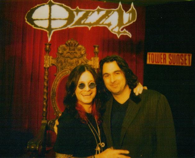 Tim Palmer Ozzy Osbourne